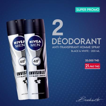 Pack Déodorant Nivéa  2 pièces