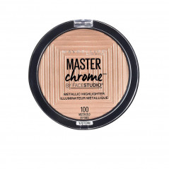 Maybelline - Highlighter - 100 - Gold - Master Chrome Metallic