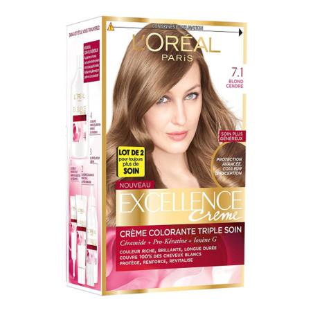 Excellence Crème - 7.1 Blond Cendré