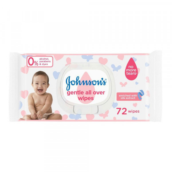 Lingettes Gentle All Over -...